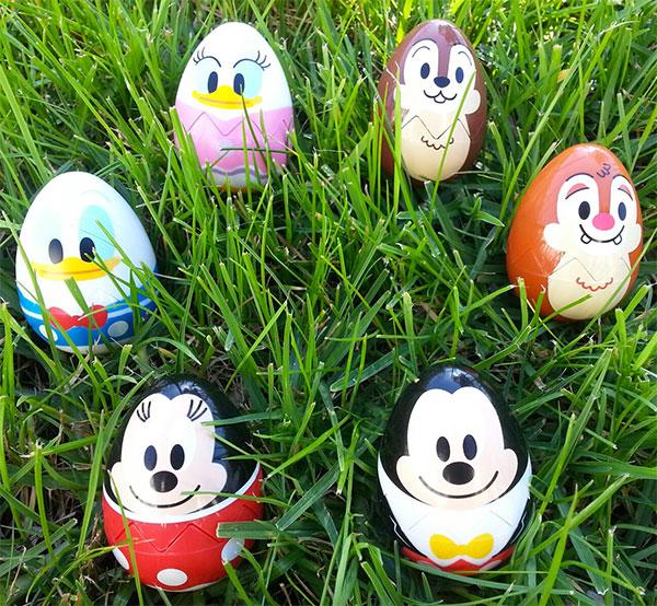 Uova di Pasqua decorate in versione personaggi Disney