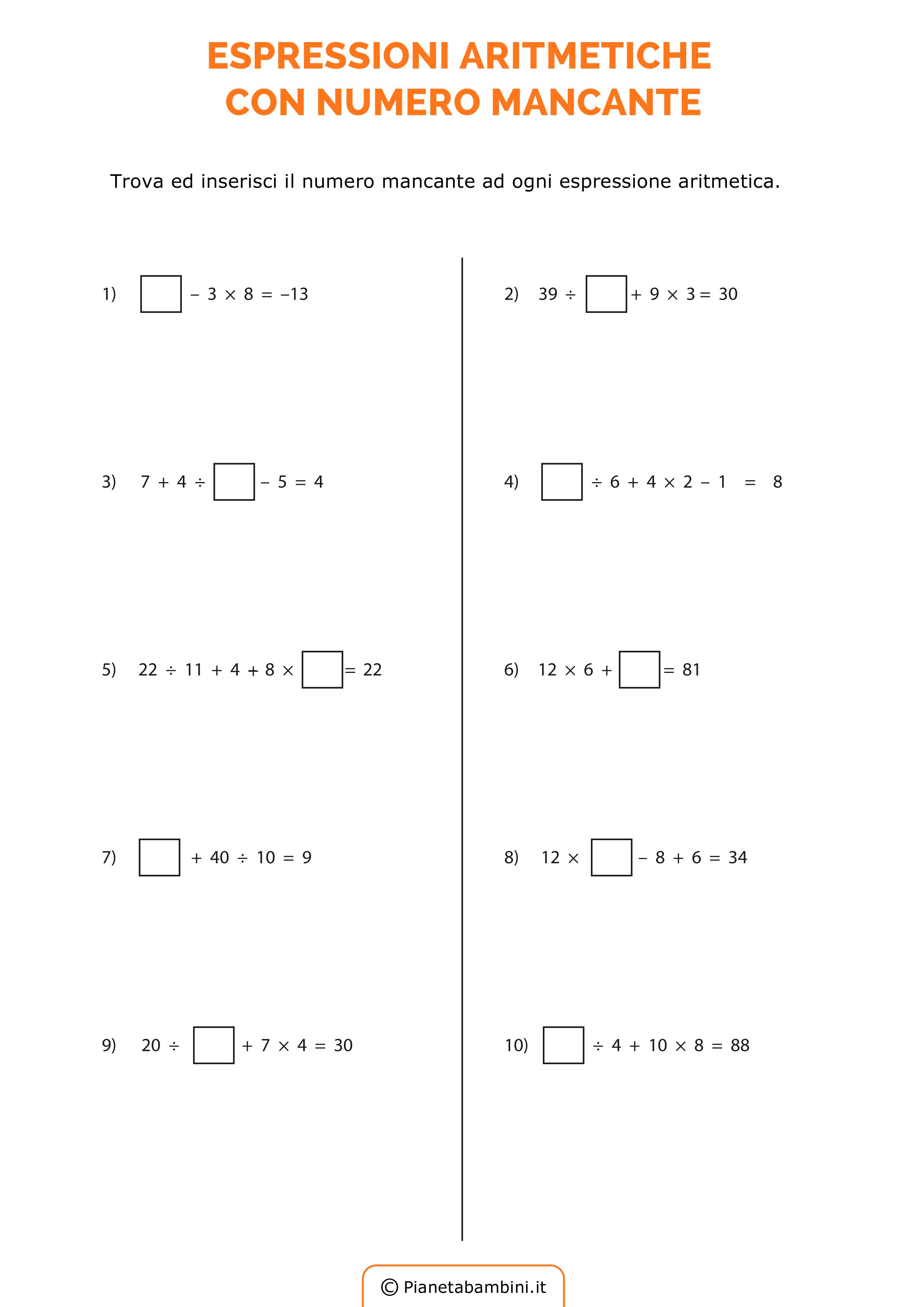 Esercizi-Espressioni-Numero-Mancante_2