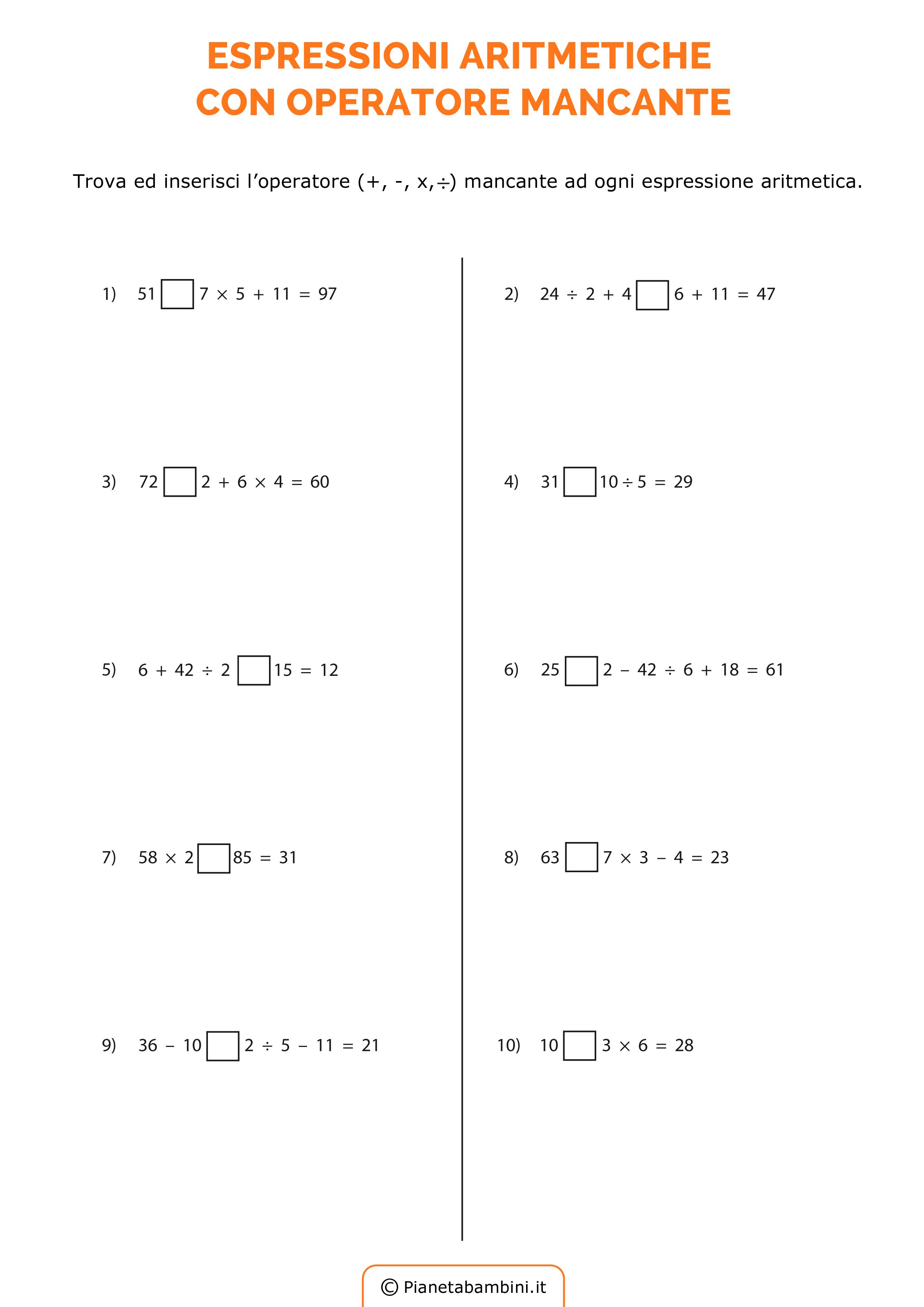 Esercizi-Espressioni-Operatore-Mancante_1