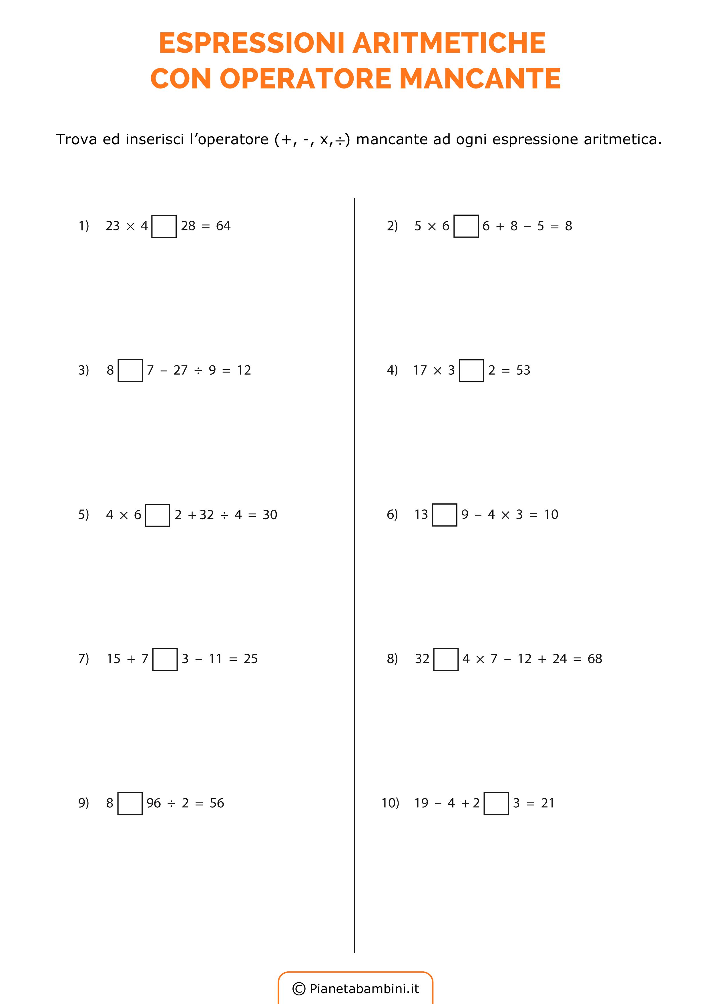 Esercizi-Espressioni-Operatore-Mancante_2