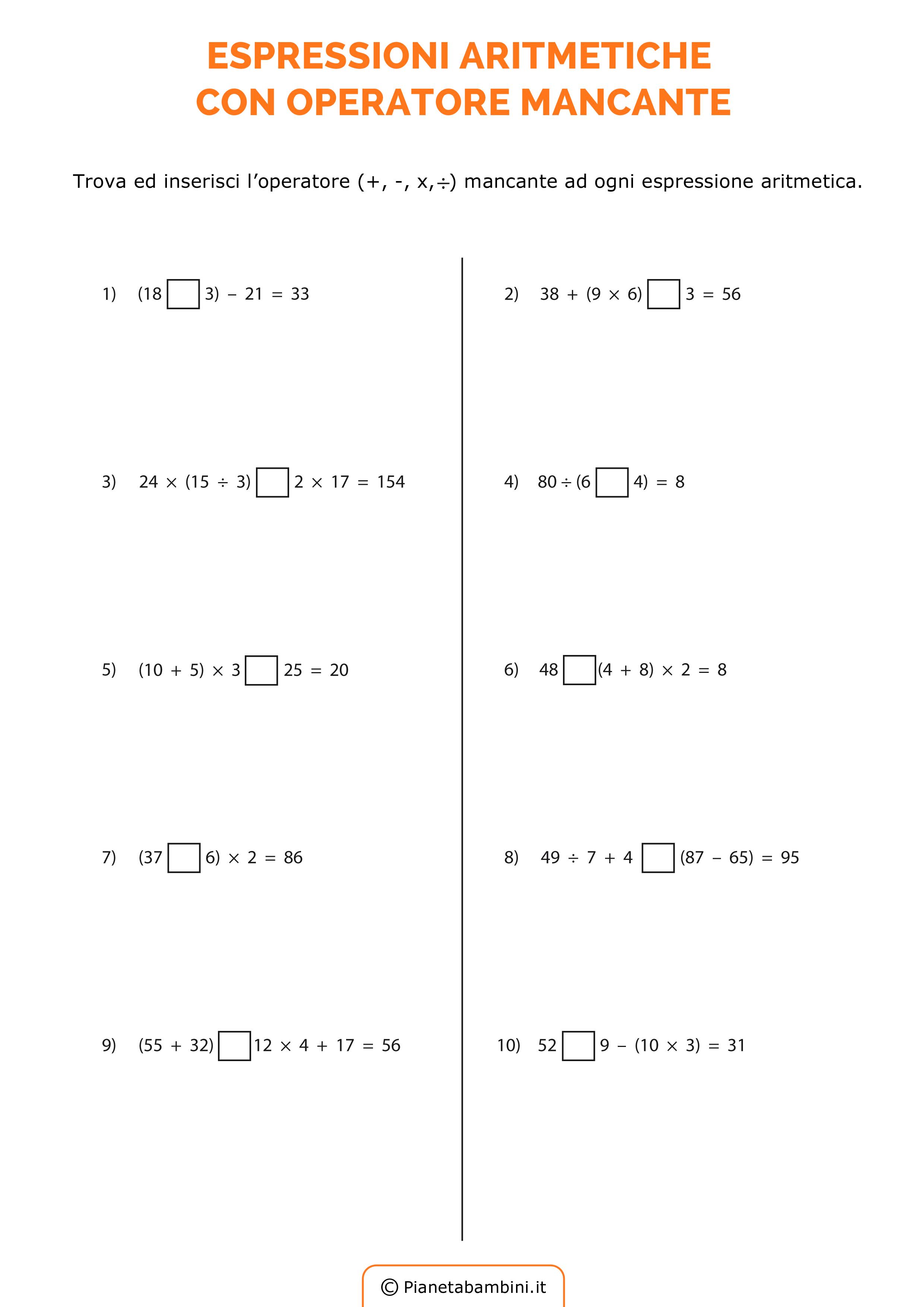 Esercizi-Espressioni-Operatore-Mancante_6