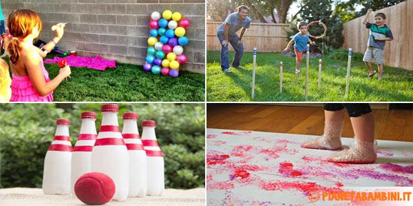 Popolare 10 Giochi Fai da Te per Bambini da Fare all'Aperto | PianetaBambini.it GE25