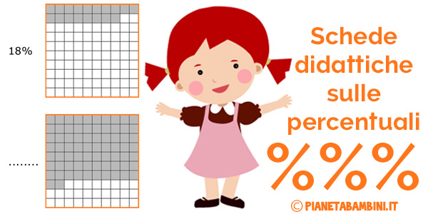 Esercizi sulle percentuali per bambini della scuola primaria
