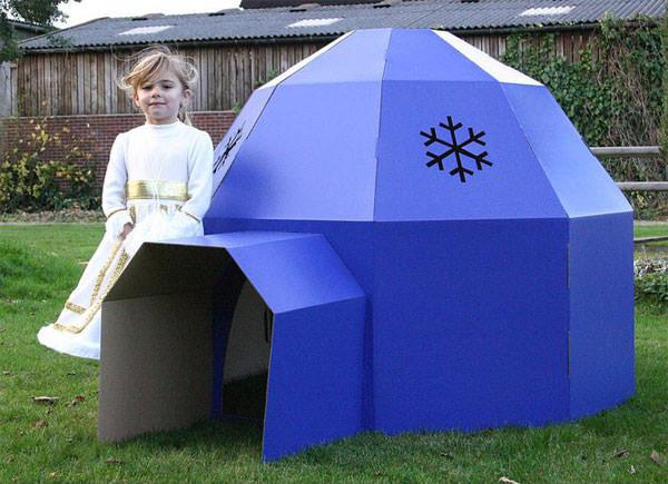 Casetta a forma di igloo
