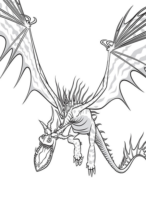 33 Disegni Di Dragon Trainer 1 E 2 Da Colorare Pianetabambiniit