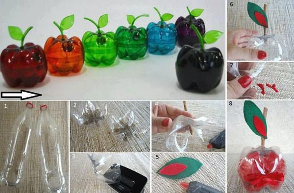 Super 20 Idee per Lavoretti con Bottiglie di Plastica per Bambini  JB51