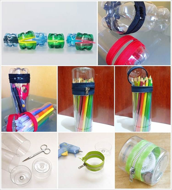 Fabuleux 20 Idee per Lavoretti con Bottiglie di Plastica per Bambini  LF63