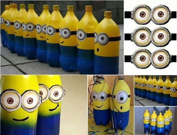 Come creare Minions con bottiglie