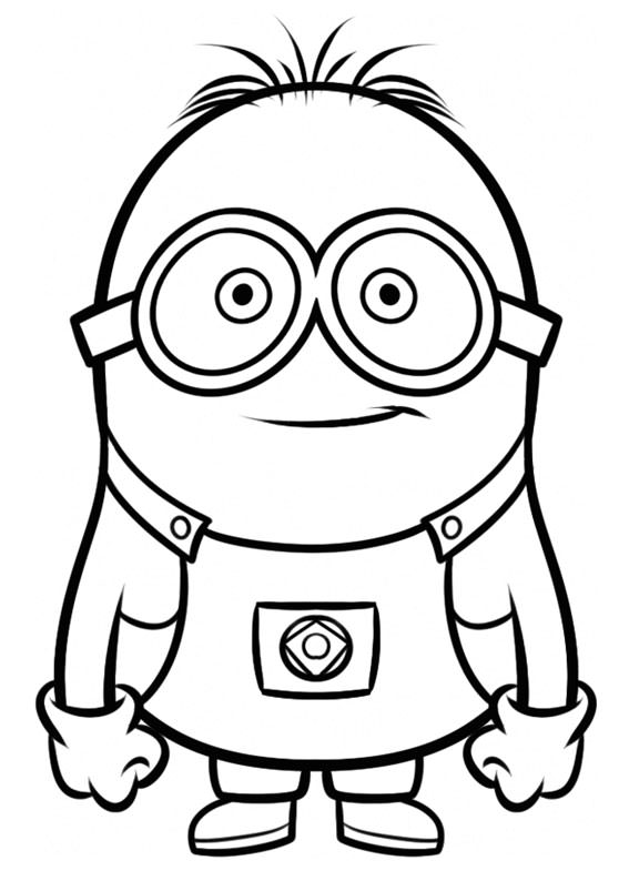 Amato 30 Disegni dei Minions da Colorare | PianetaBambini.it TK13