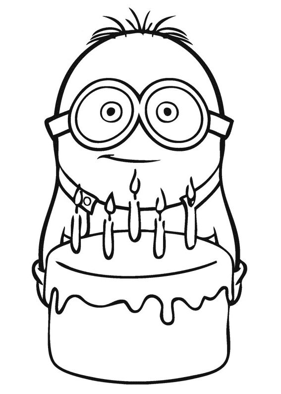 30 Disegni Dei Minions Da Colorare Pianetabambini It