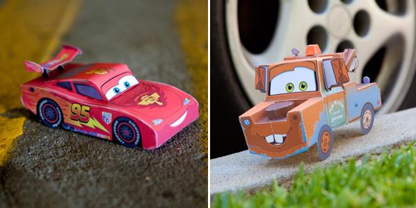 Saetta-McQueen-Cricchetto-Cars-Costruire-Carta