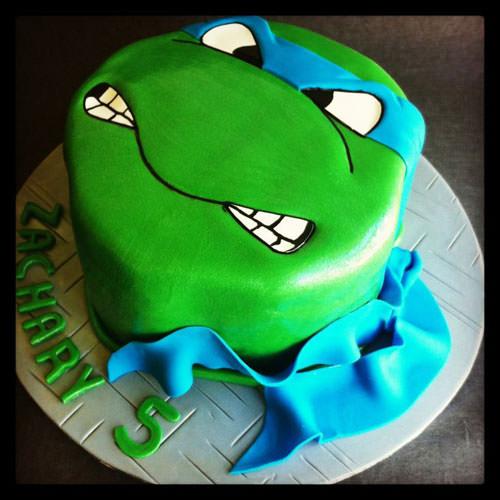 Foto della torta delle Tartarughe Ninja in PDZ n.06