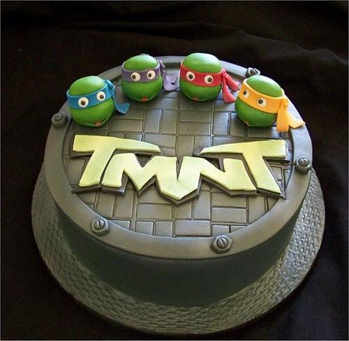 Foto della torta delle Tartarughe Ninja in PDZ n.19