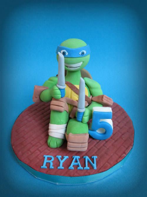 Foto della torta delle Tartarughe Ninja in PDZ n.22