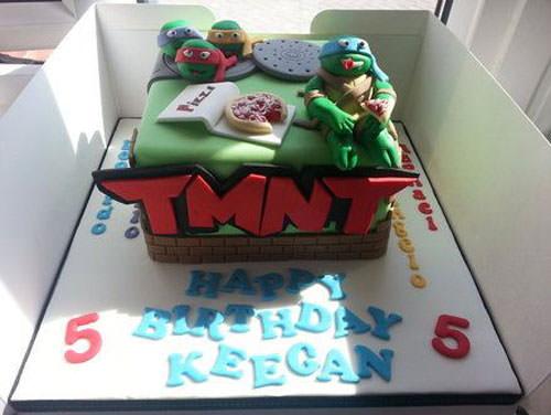 Foto della torta delle Tartarughe Ninja in PDZ n.29