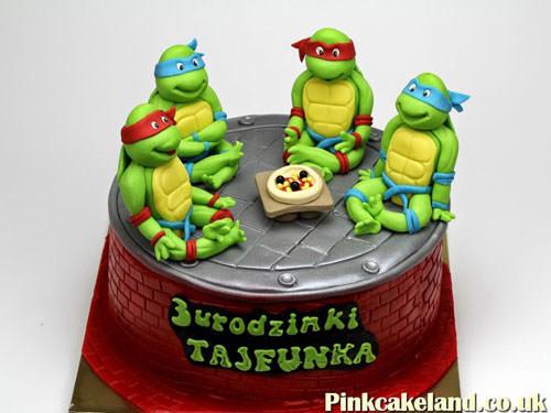 Foto della torta delle Tartarughe Ninja in PDZ n.32