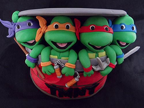 Foto della torta delle Tartarughe Ninja in PDZ n.34