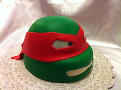 Foto della torta delle Tartarughe Ninja in PDZ n.40