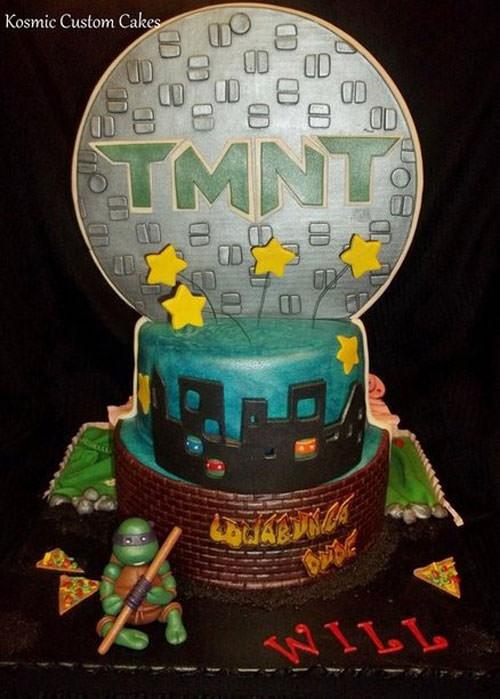 Foto della torta delle Tartarughe Ninja in PDZ n.42