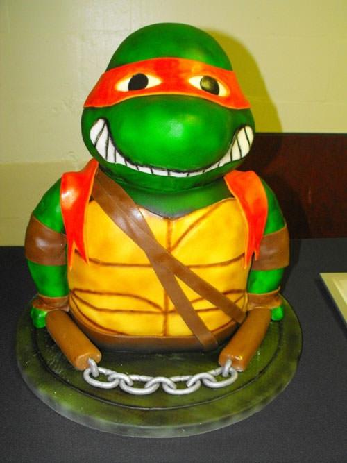 Foto della torta delle Tartarughe Ninja in PDZ n.44