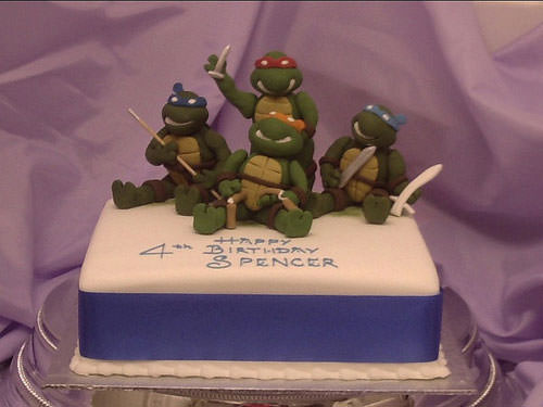 Foto della torta delle Tartarughe Ninja in PDZ n.53
