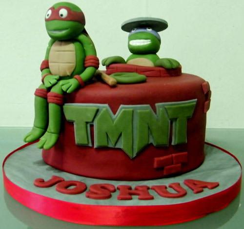 Foto della torta delle Tartarughe Ninja in PDZ n.61