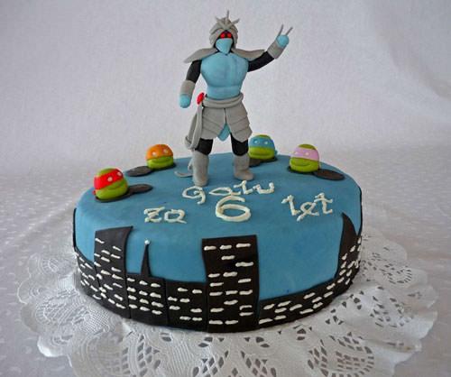 Foto della torta delle Tartarughe Ninja in PDZ n.63
