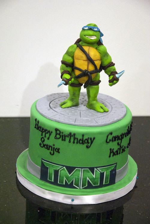 Foto della torta delle Tartarughe Ninja in PDZ n.70