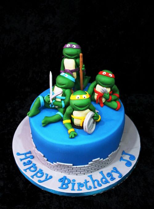Foto della torta delle Tartarughe Ninja in PDZ n.71