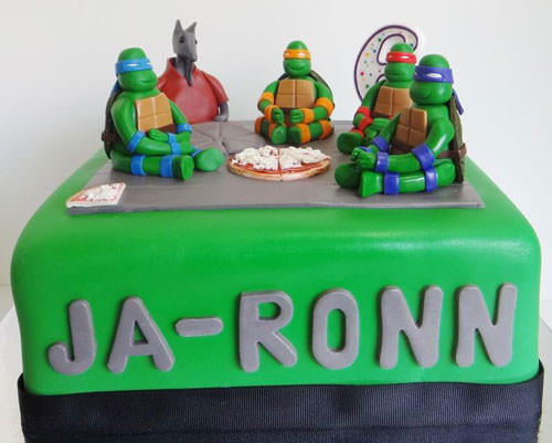 Foto della torta delle Tartarughe Ninja in PDZ n.79