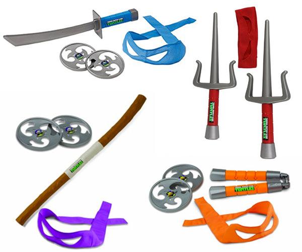 Armi giocattolo delle Tartarughe Ninja per bambini