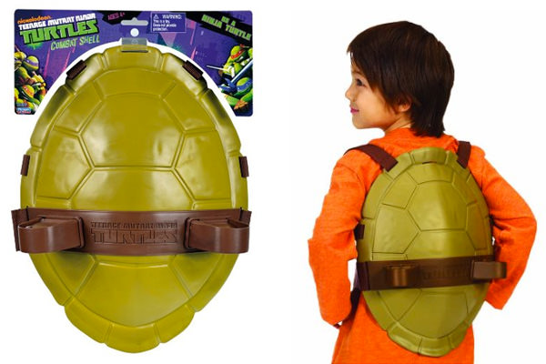 Guscio delle Tartarughe Ninja per bambini
