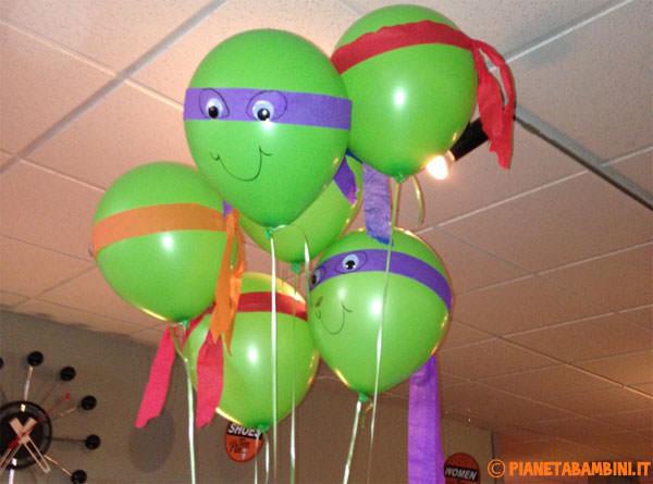 Come realizzare dei palloncini delle Tartarughe Ninja