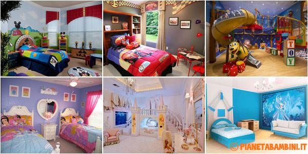 30 bellissime camerette a tema disney per bambini - Camere da principesse ...