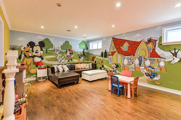 Camerette Disney Per Neonati Meravigliose Camerette Da Principessa