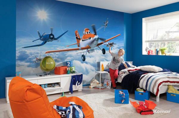 Cameretta di Planes per bambini