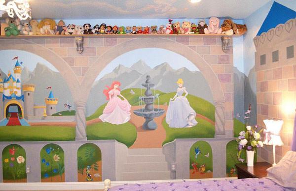 Cameretta delle principesse Disney n.02