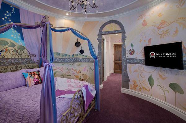 Cameretta Disney Principesse : Bellissime camerette a tema disney per bambini pianetabambini