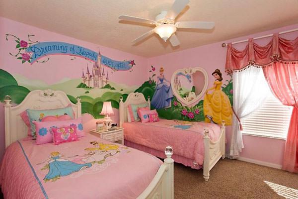 Cameretta delle principesse Disney n.04