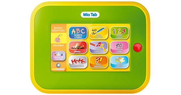 Tablet per bambini Carotina Mio Tab di Lisciani