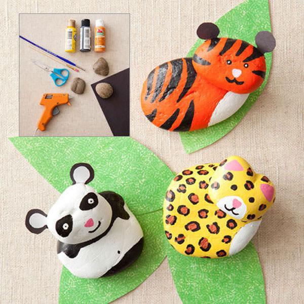 Animali da creare con i sassi