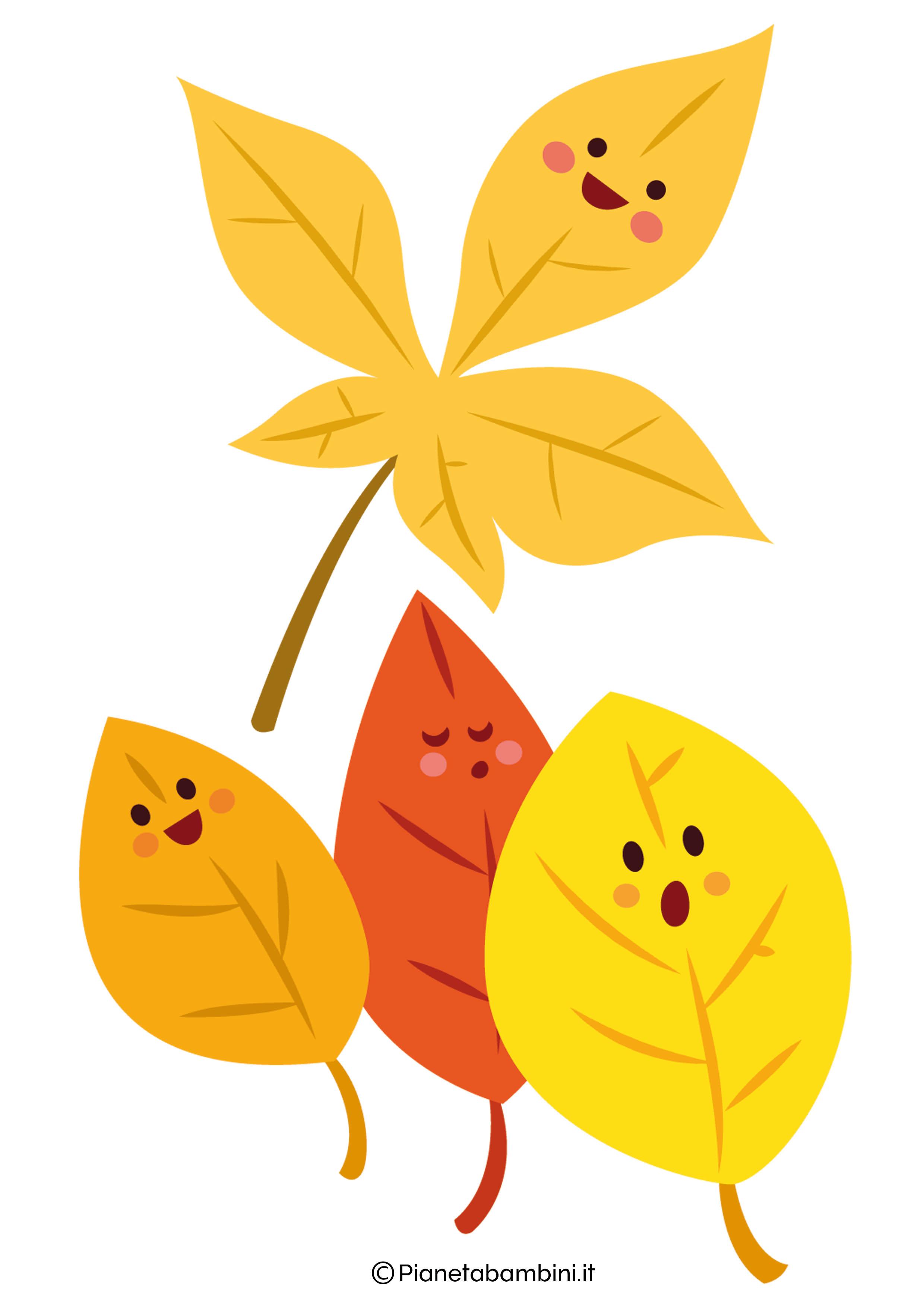 Immagini d 39 autunno da ritagliare per decorazioni e - Disegni di coniglietti per bambini ...