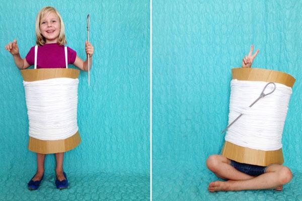 Come creare un costume da ago e filo fai da te