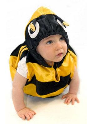 Costume di Halloween da ape per neonati