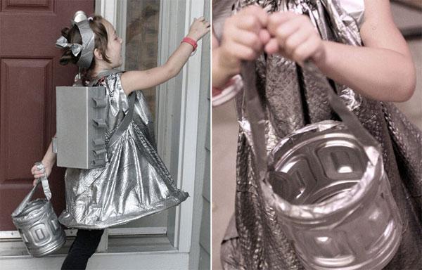 Come realizzare un costume da bambina dello spazio fai da te