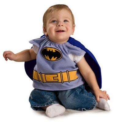 Costume di Halloween da Batman per neonati