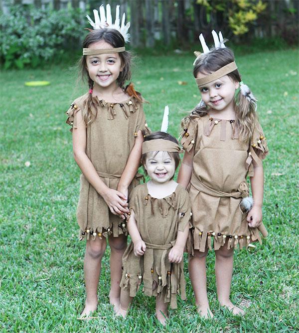 Come creare un costume da indiani fai da te