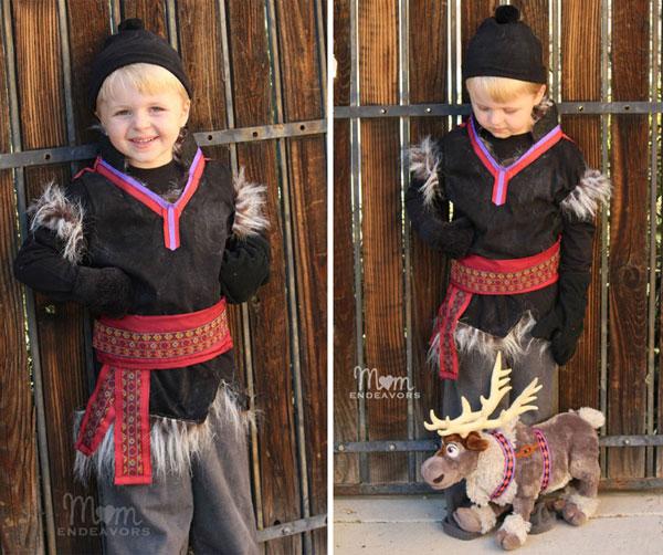 Come creare un costume di Kristoff di Frozen fai da te