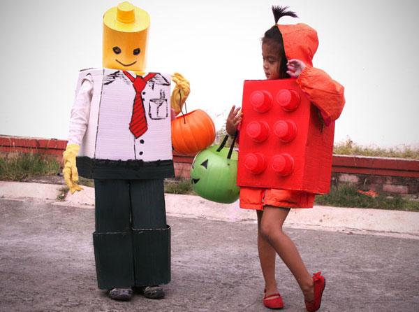 Come creare un costume da LEGO fai da te