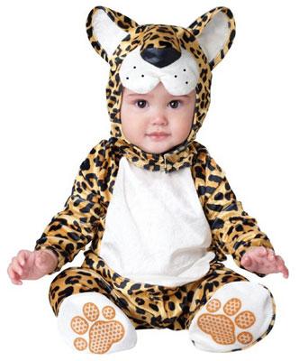 Costume di Halloween da leopardo per neonati